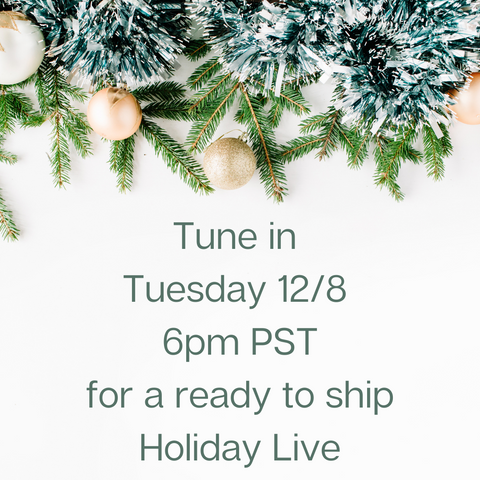 holiday shopping live