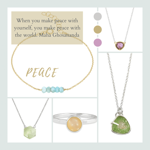 jewelry to inspire inner peace
