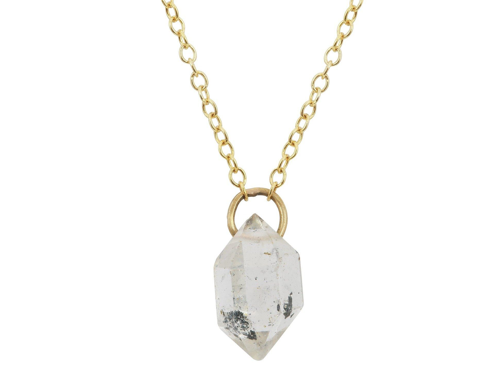 Tibetan Quartz crystal necklace - Amanda K Lockrow