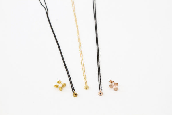 14k gold pebble collection