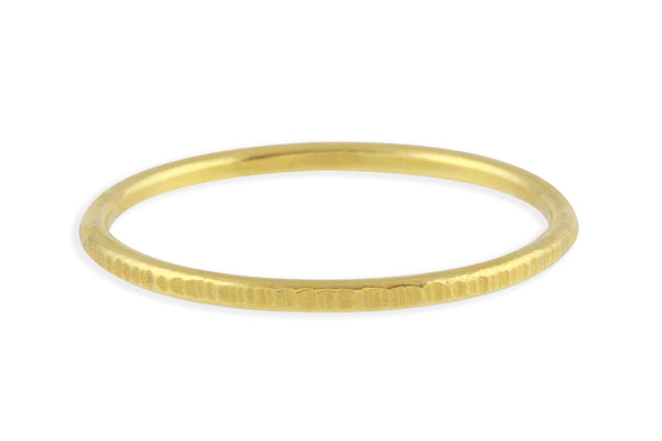 14k gold birch band