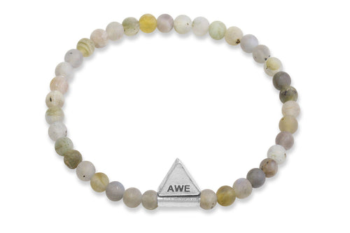 InCompass AWE bracelet - labradorite and sterling silver - Amanda K Lockrow