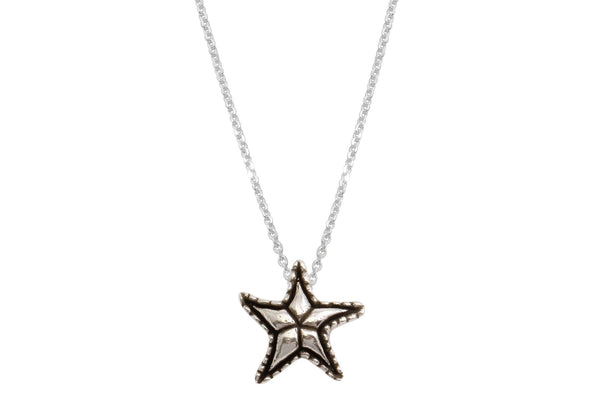 Lana necklace - sterling silver starfish necklace