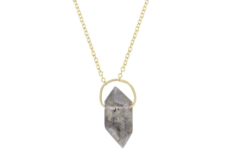 Tara necklace - Tibetan Quartz smaller crystal necklace necklace Amanda K Lockrow