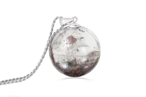 lodalite sphere necklace