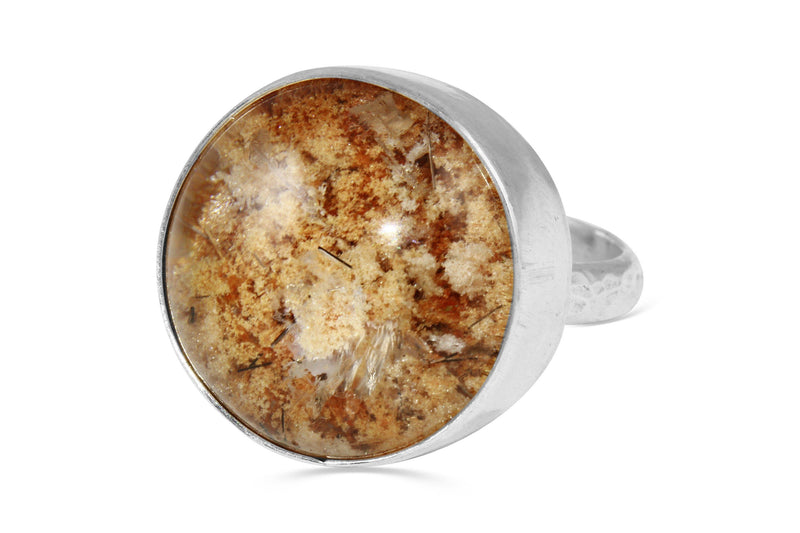 lodalite garden quartz ring