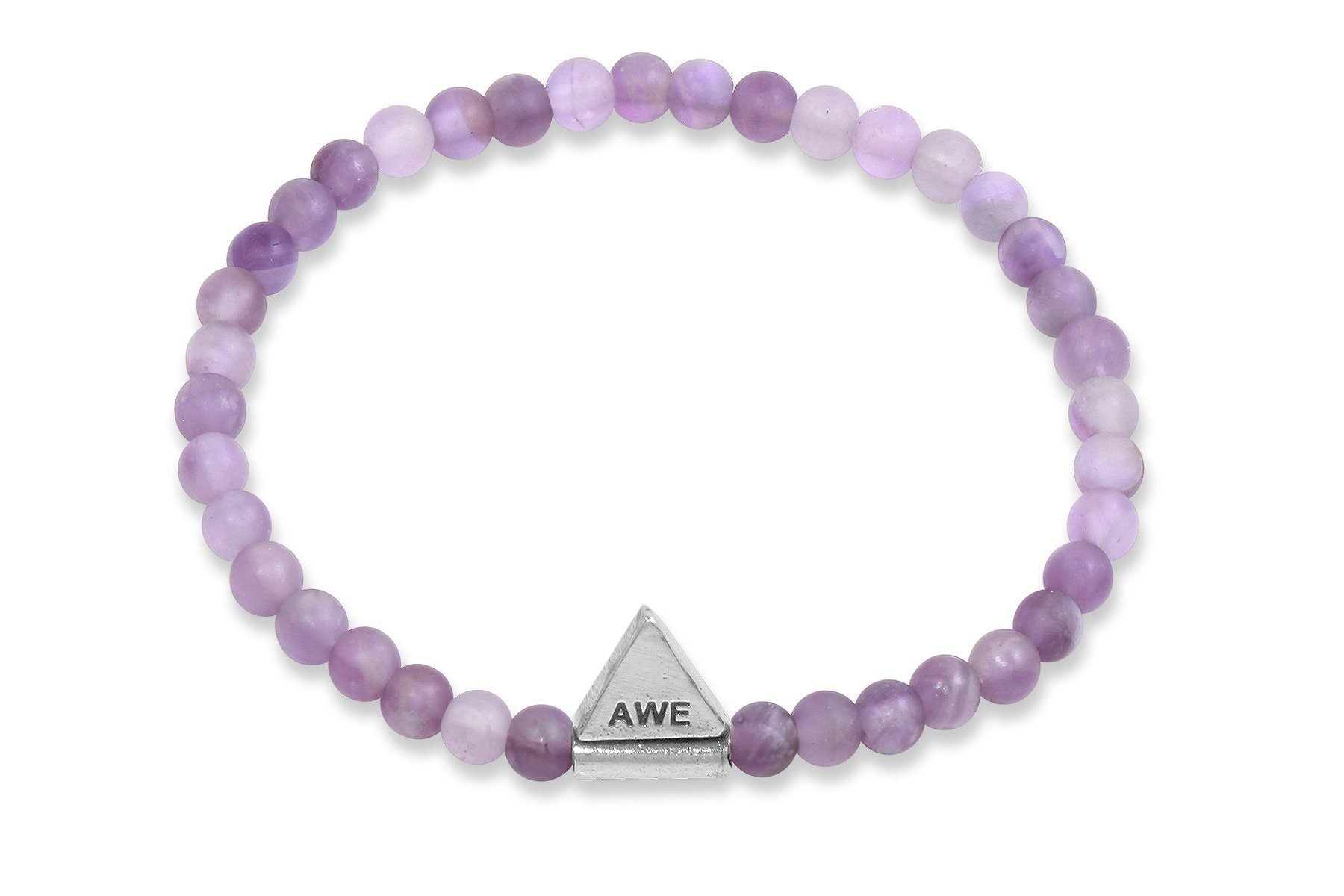InCompass AWE bracelet - amethyst and sterling silver