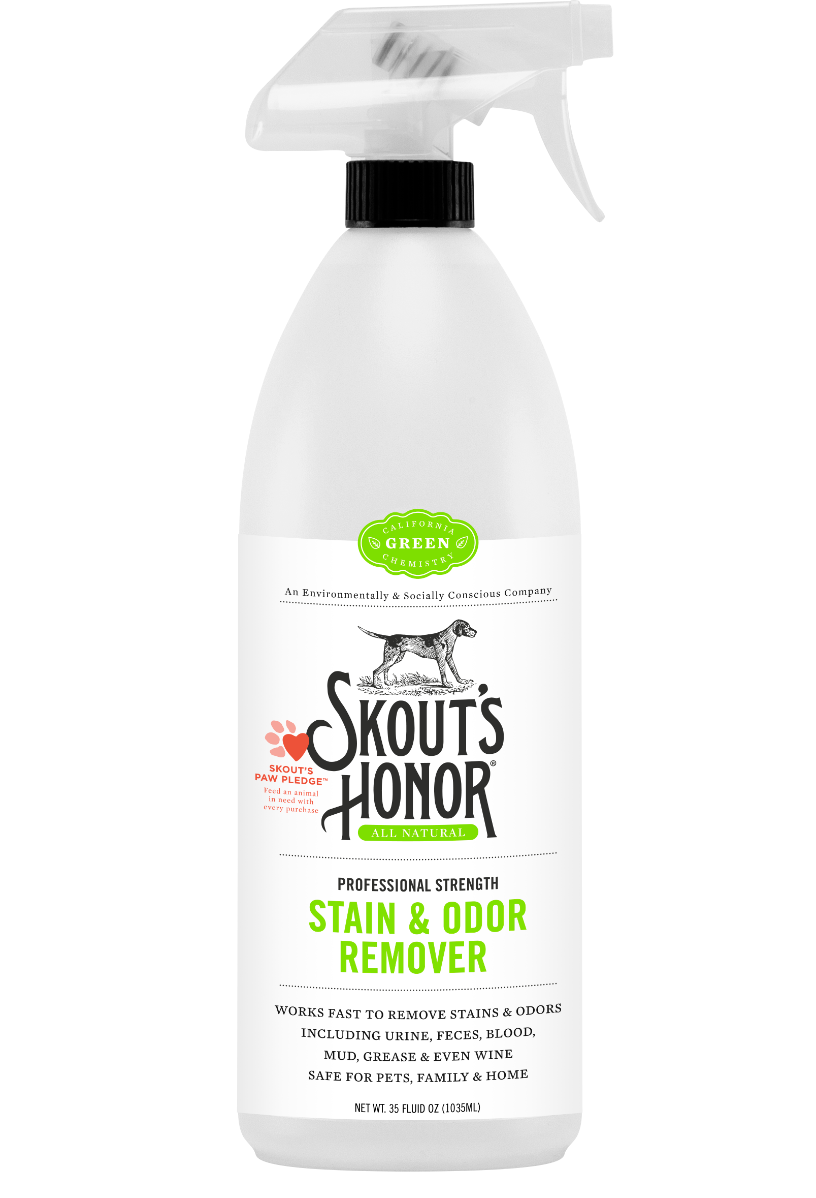 Skout's Honor Natural Pet Stain & Odor Eliminating Products