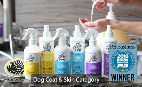 Dog Skin and Coat Category Winner at Industry Recognition Award
