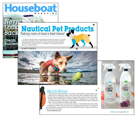 Featured in Houseboat Magazine July - August 2019 | Best Pet Products