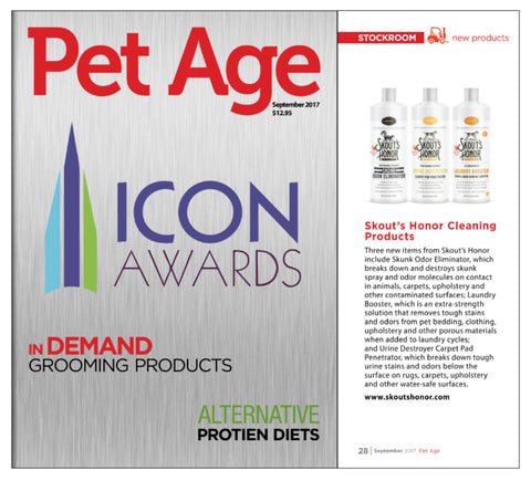 Featured in Page Magazine September 2017 | Best New Pet Products