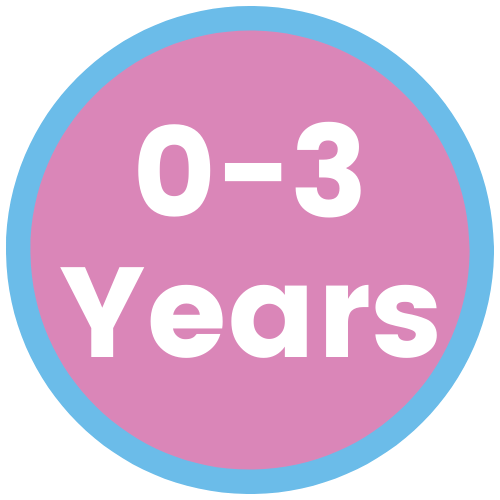0-3 years old