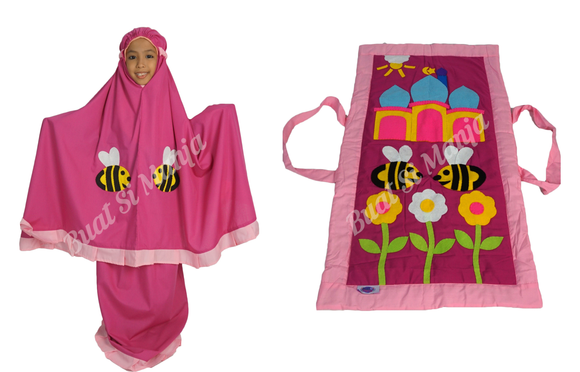 Bee Kids Prayer Mat & Garment