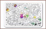 Colour Me Mats - Hari Raya Aidilfitri Celebrations - Reusable Silicone Colouring Mats