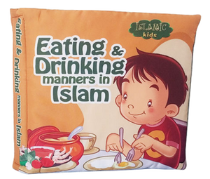 Eating & Drinking manners - Soft Book (Cloth Book)