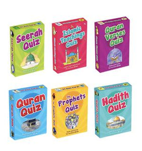 Islamic Quiz Cards (Set of 6 Packs)