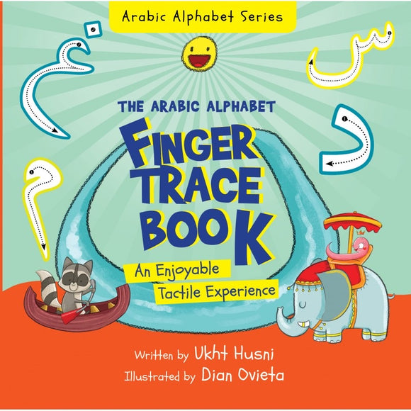 The Arabic Alphabet Finger Trace Book