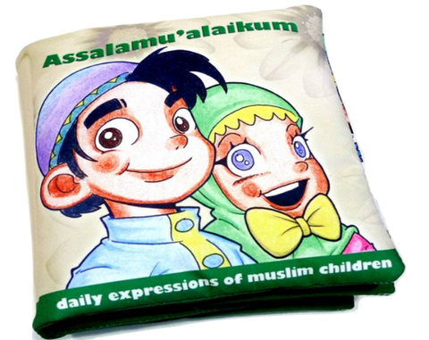 Assalamualaikum - Soft Book (Cloth Book)