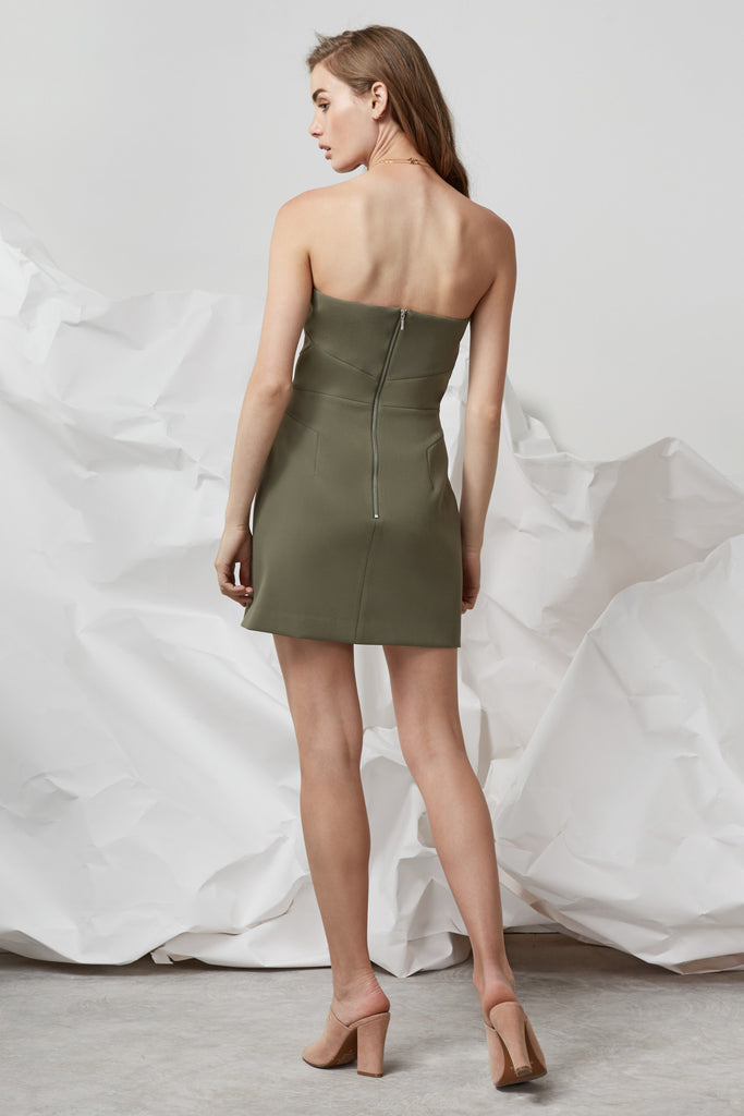 NO LIGHT DRESS khaki