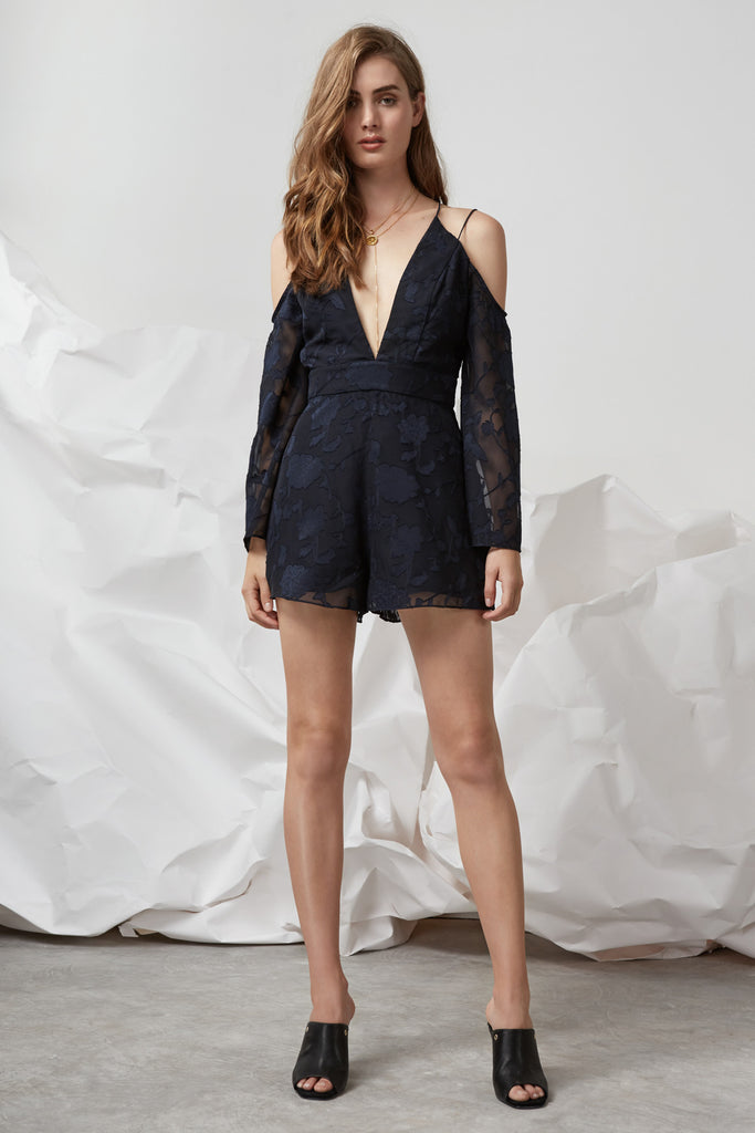 TOLD YOU PLAYSUIT navy