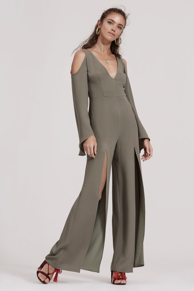HAUNTED JUMPSUIT khaki