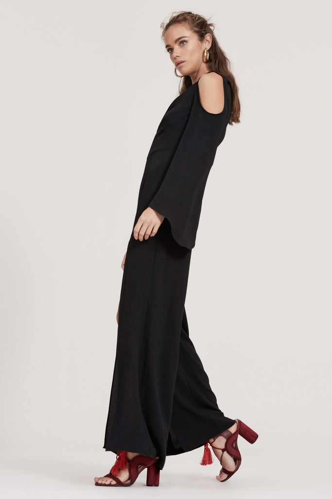 HAUNTED JUMPSUIT black