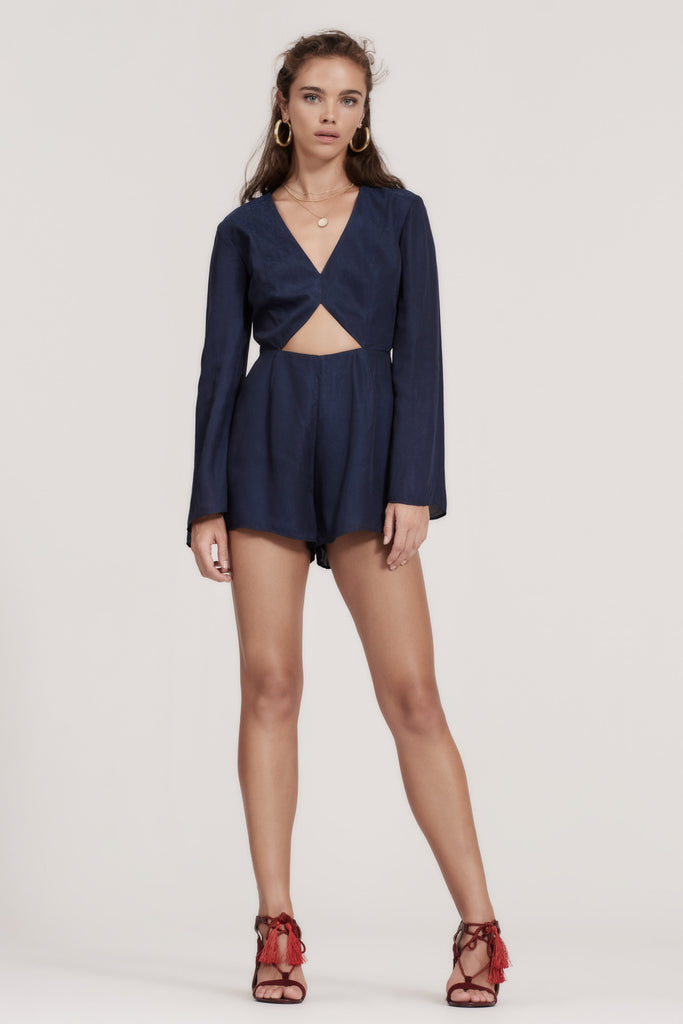 MERCURIAL PLAYSUIT navy
