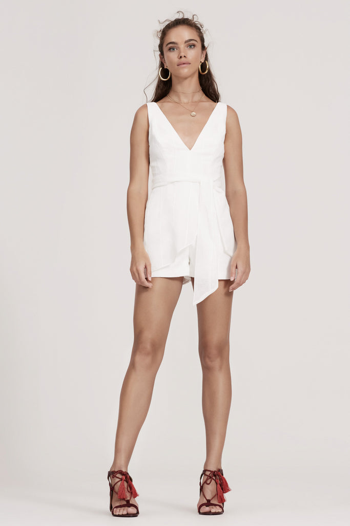 SANCTUARY PLAYSUIT ivory