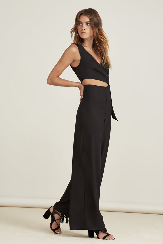 BREEZEBLOCKS JUMPSUIT black