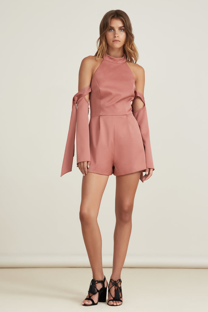 GROUPLOVE PLAYSUIT papaya