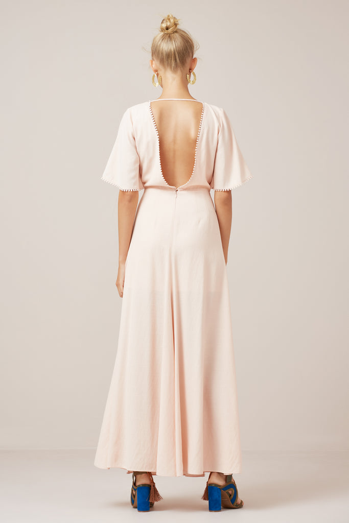 SALT LAKE MAXI DRESS nude