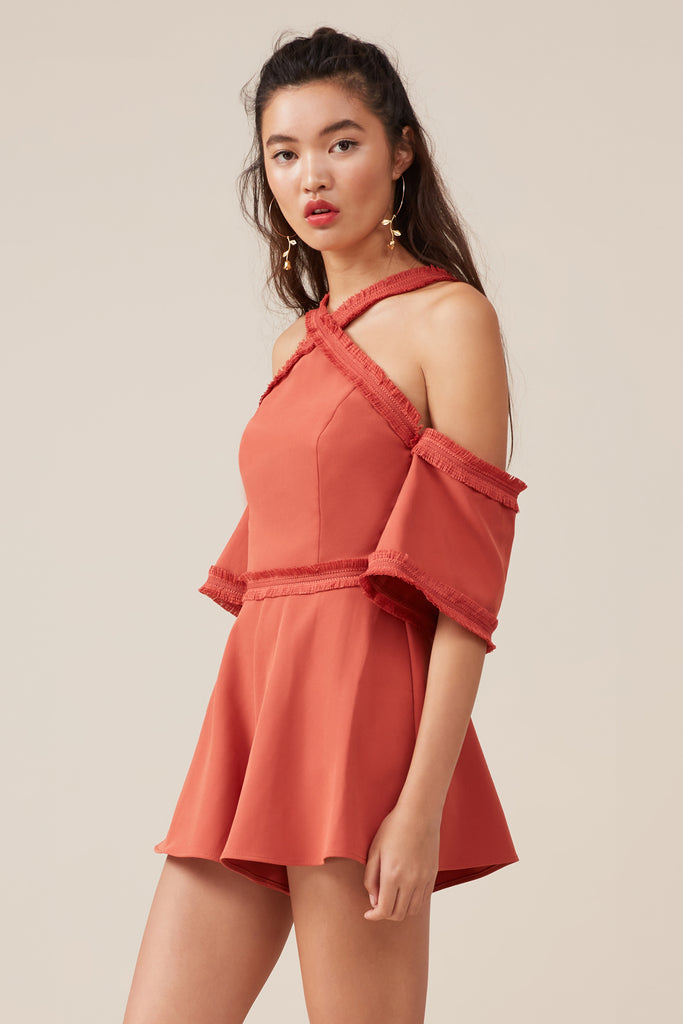 VISIONS PLAYSUIT chilli