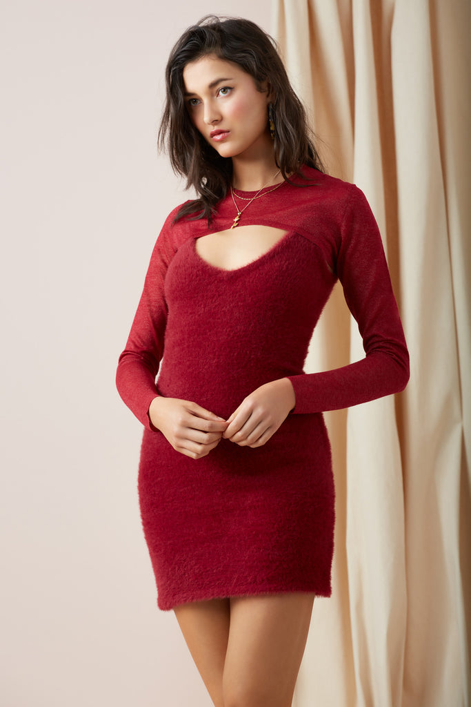 DREAMERS KNIT DRESS fig