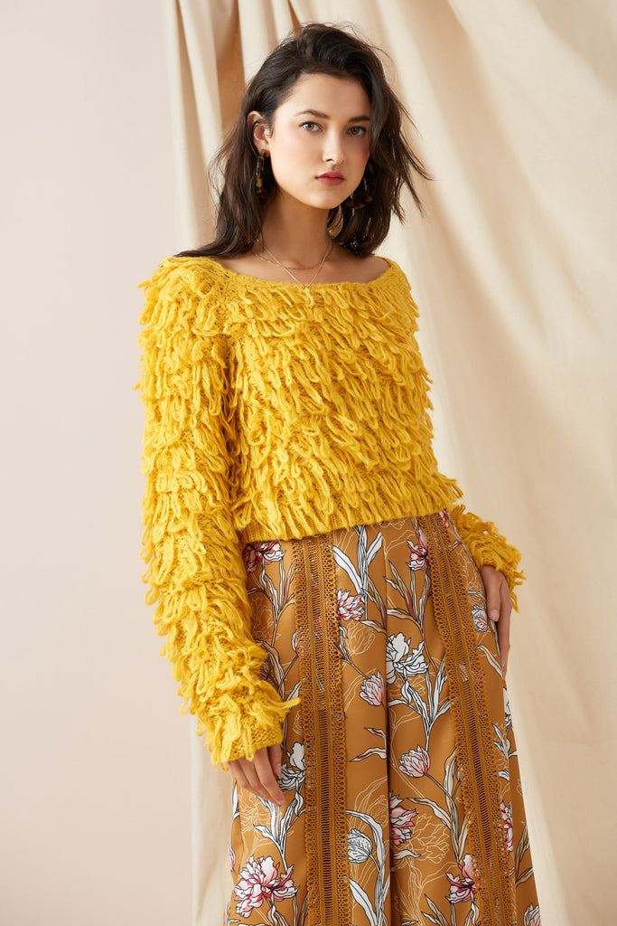 SEASONS JUMPER marigold