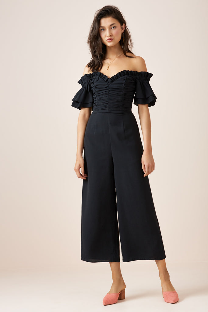 FADED JUMPSUIT black