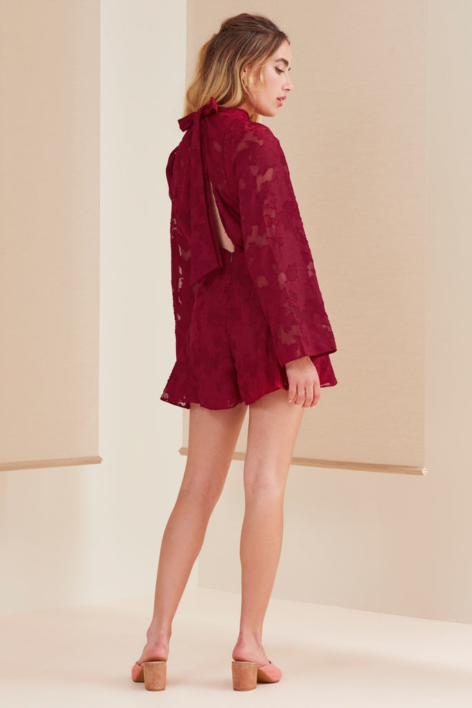 MIDNIGHT PLAYSUIT ruby
