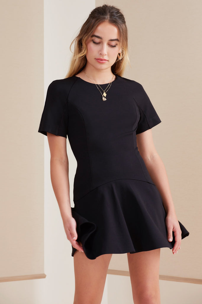 PALMS MINI DRESS black