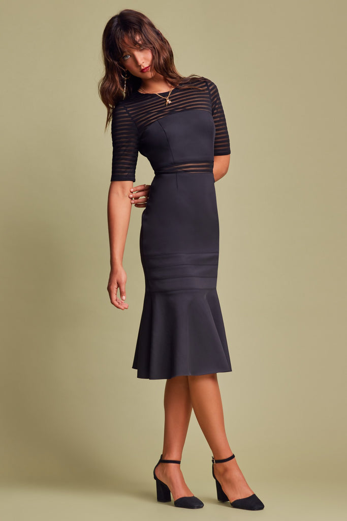 DECEPTION DRESS black
