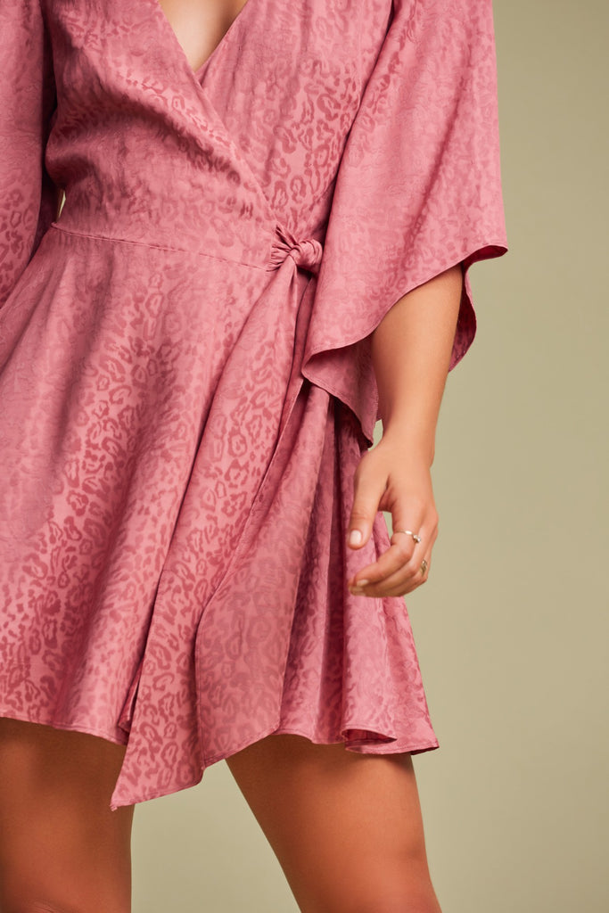 HEATWAVE MINI DRESS pink