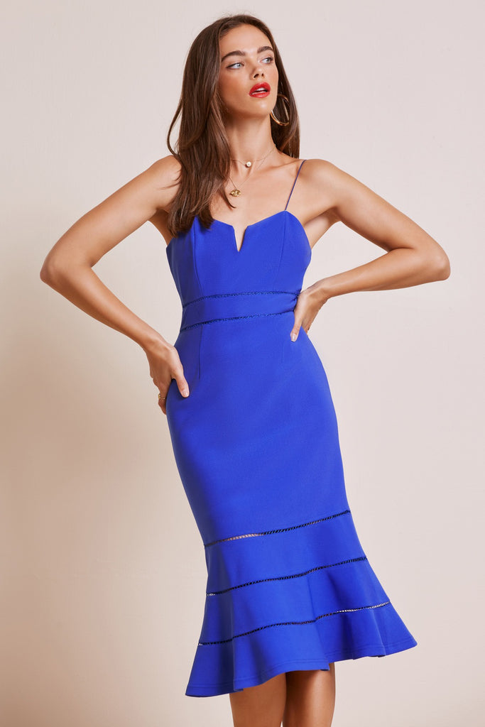 IMMORTAL DRESS cobalt