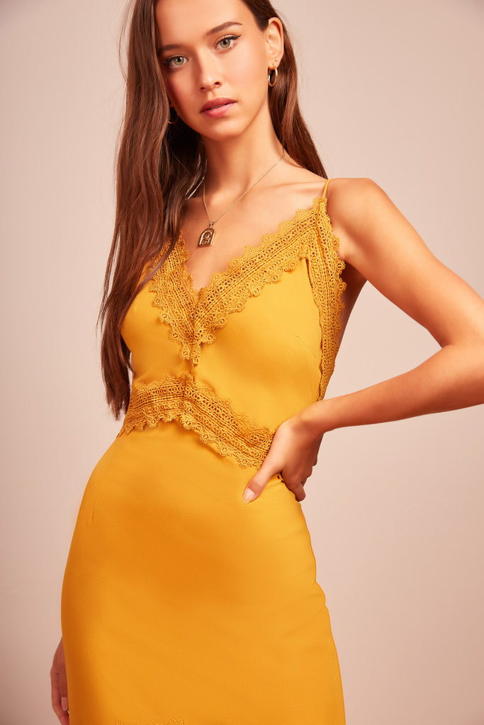 RODEO DRESS marigold