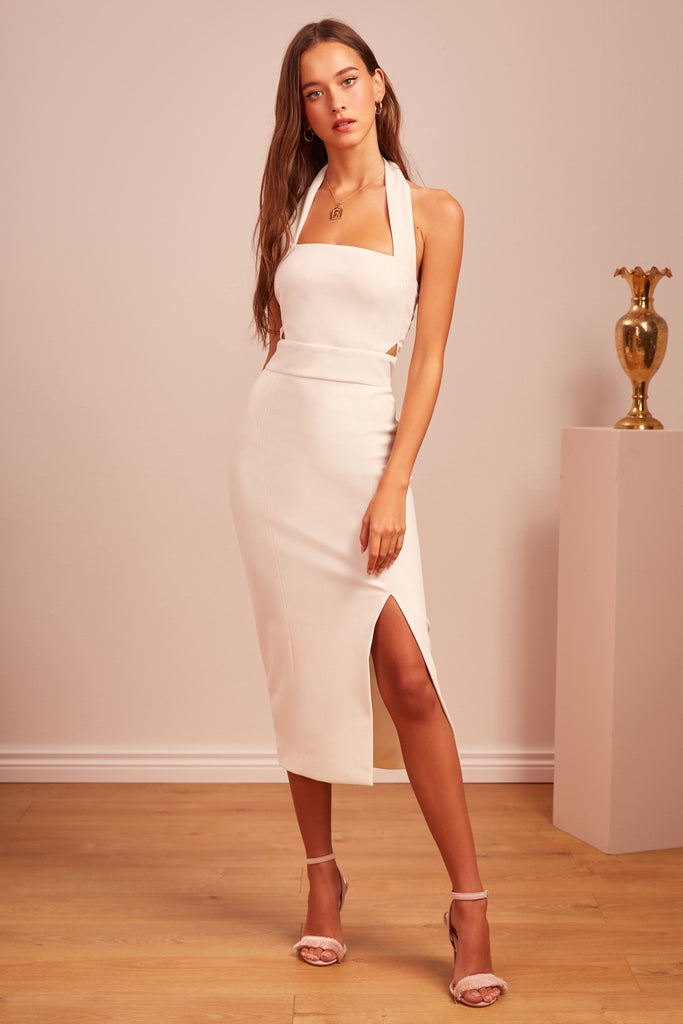SEEKING DRESS ivory