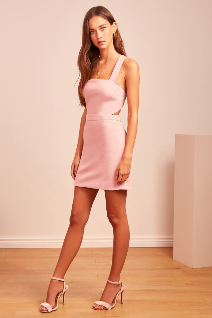 SEEKING MINI DRESS pink