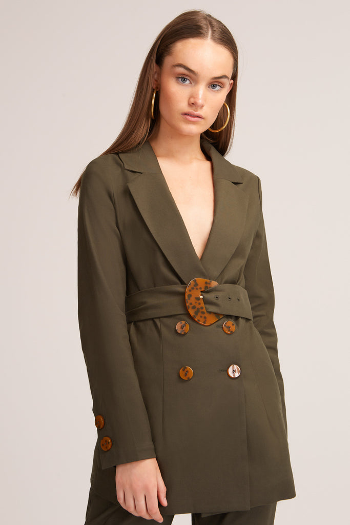 JADA JACKET forest green