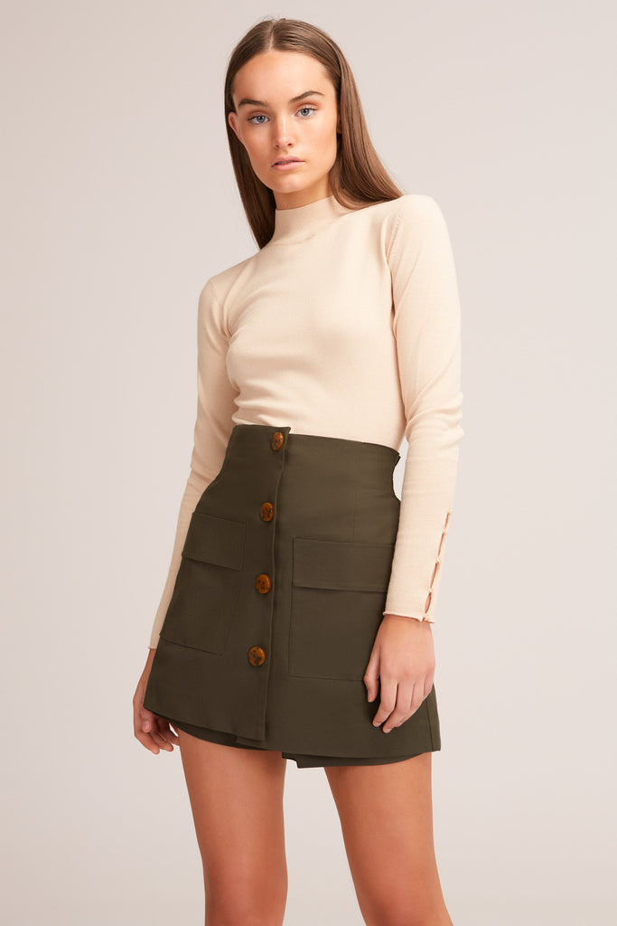 JADA SKORT forest green
