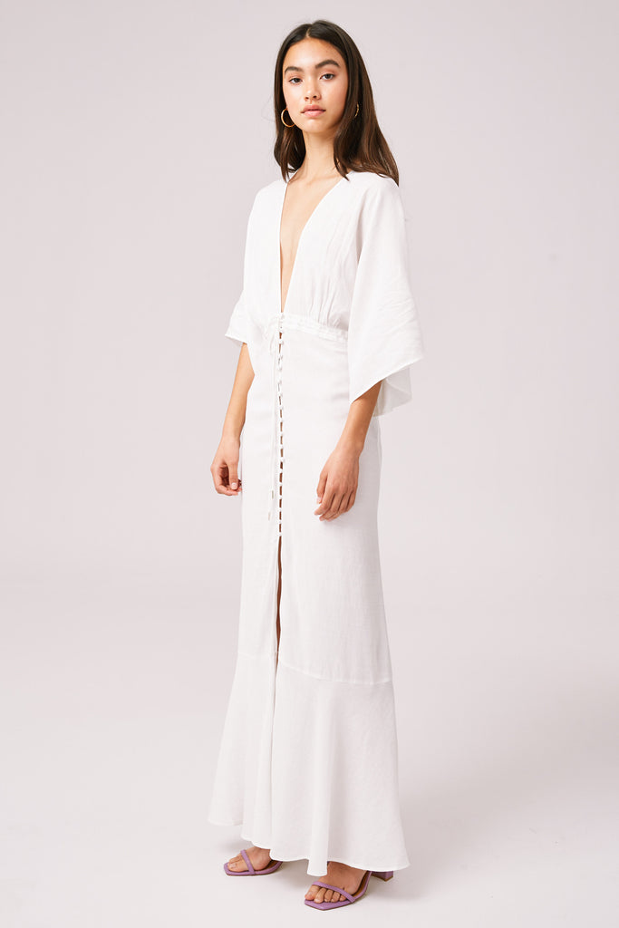 SUNSET MAXI DRESS ivory