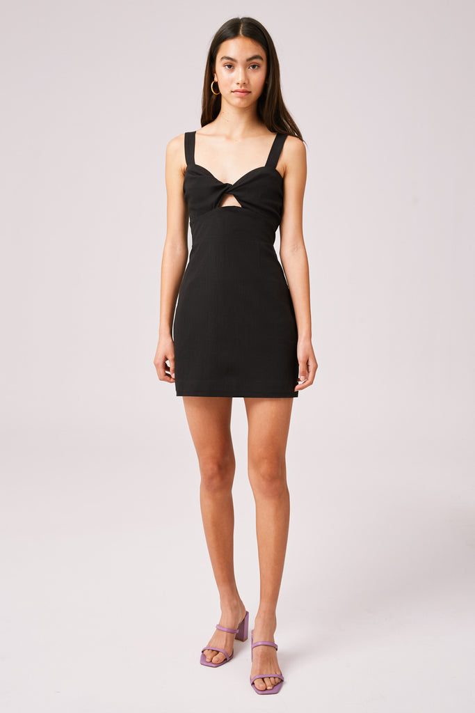 THEA MINI DRESS black
