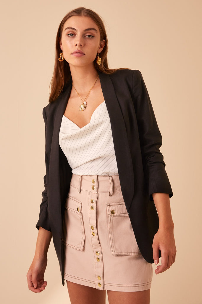 ARANCIATA JACKET black