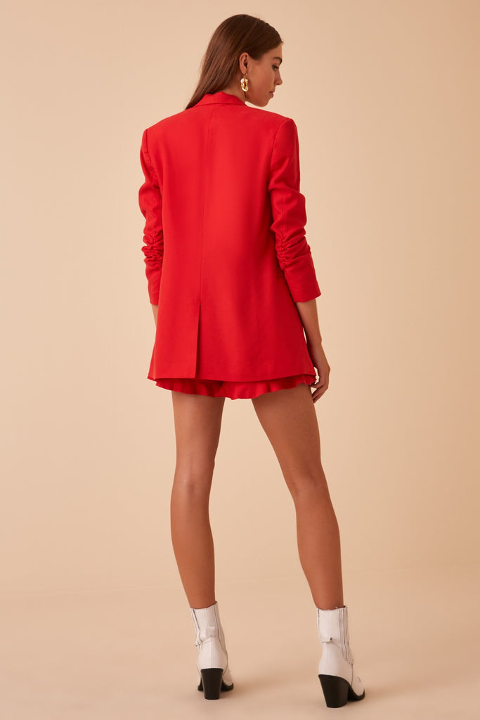 ARANCIATA JACKET red