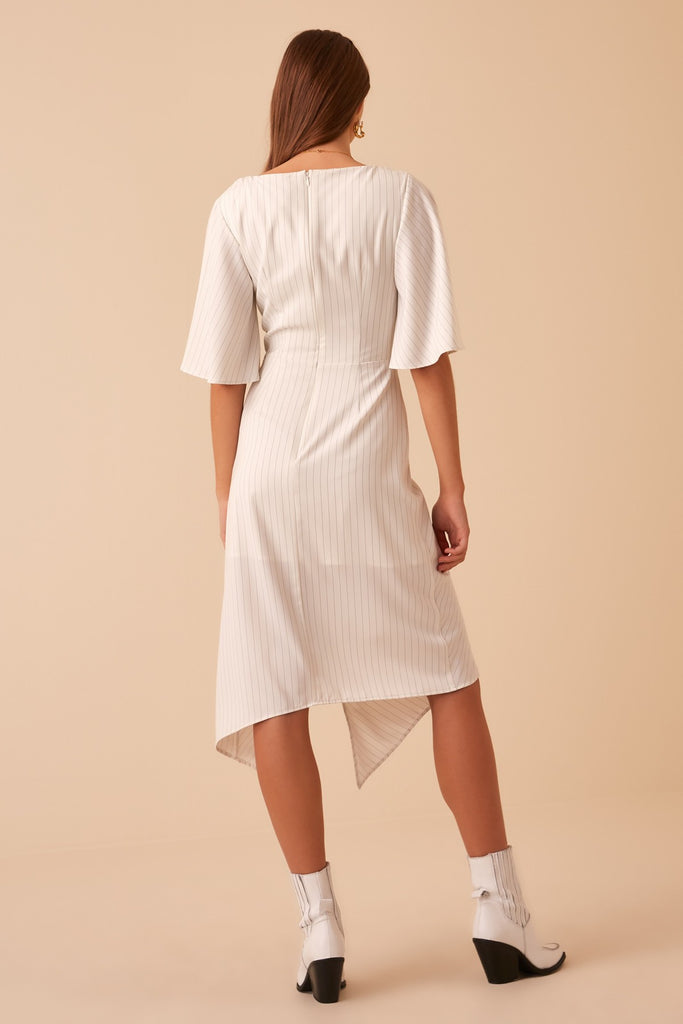 d314dc291023 FINDERS KEEPERS | FLAMENCO DRESS ivory stripe – Finders Keepers ...